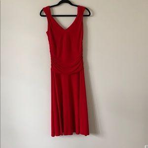 Moda International Strapless Dress Red XSmall